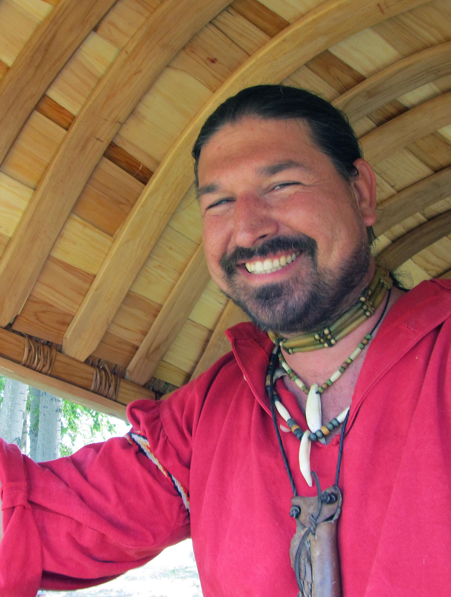 Christian Pilon, great adventurer, ambassador of the Coureurs des bois Challenge